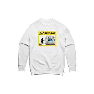 Official Subway Crewneck (White)