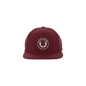 Spray Can Snapback (Burgundy)