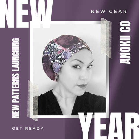 NEW YEAR 2021 ANOKII CO THE BEST NEW SCRUB CAP COLLECTION
