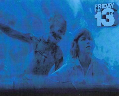 8 x 10 Friday the 13th Blue Collage