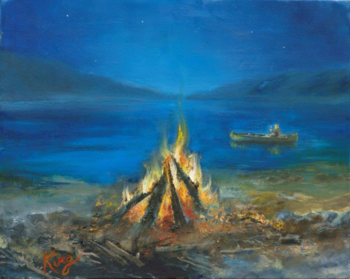 CAMPFIRE on CRYSTAL LAKE