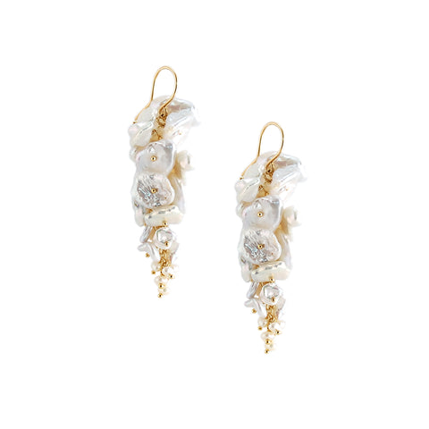 Keishi Pearl Earrings