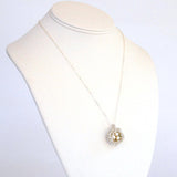Bird's Nest Necklace in Freshwater Pearl