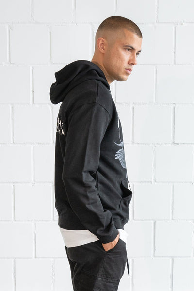 Colon Oversized Hoodie Black