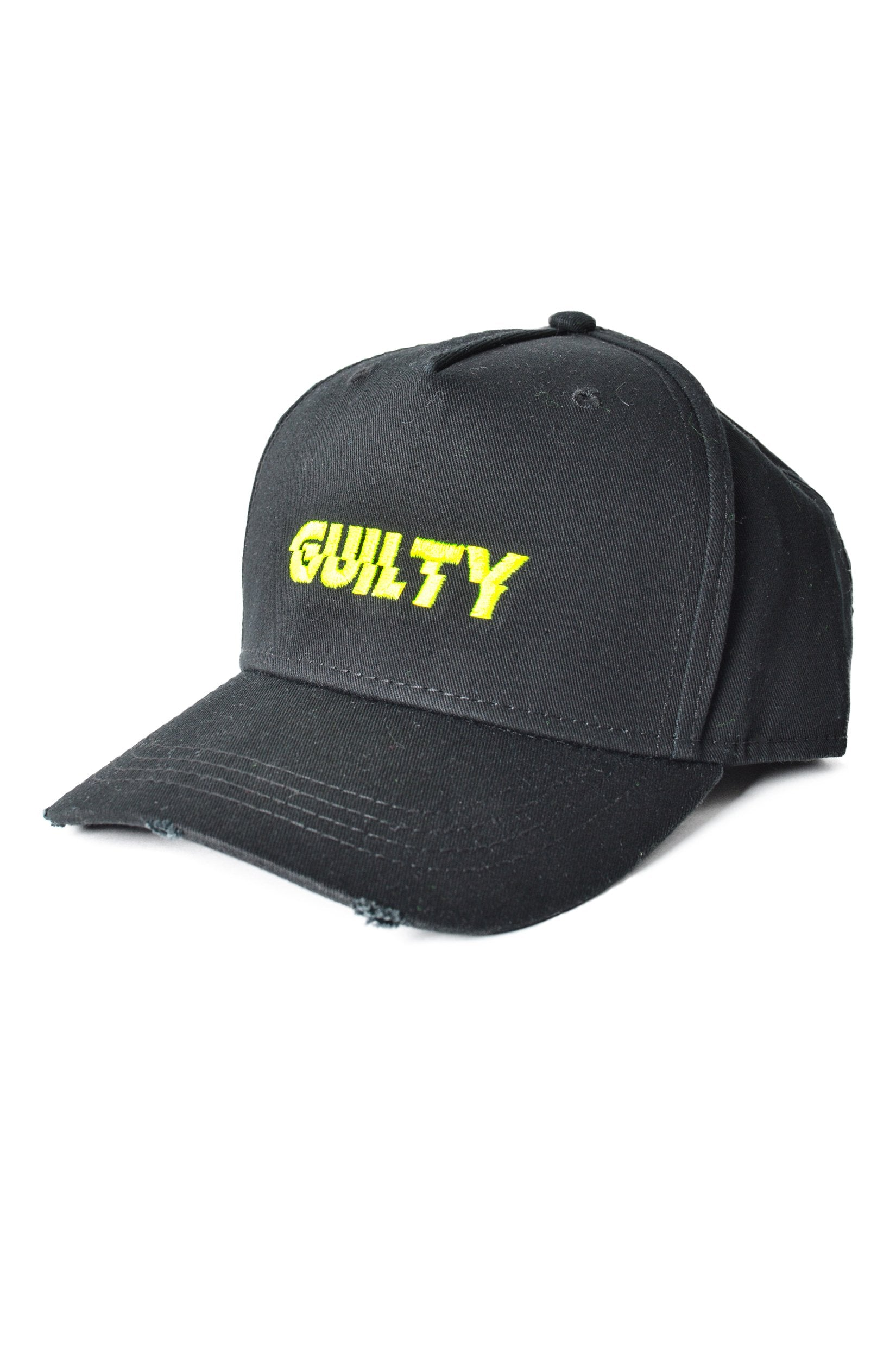 Guilty Destroyed Cap Black