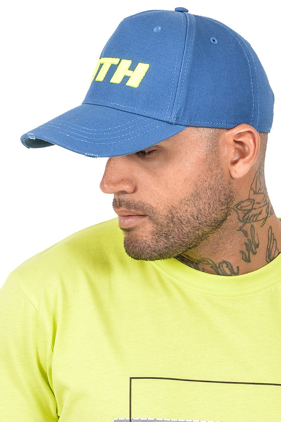 Neo Cap Destroyed Blue SNAPBACK PEGADOR