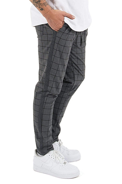 Vigo Squared Pants Dark Grey - PEGADOR - Dominate the Hype