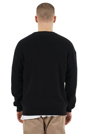 PEGADOR - Milan Oversize Knit Sweater Black - $59.95