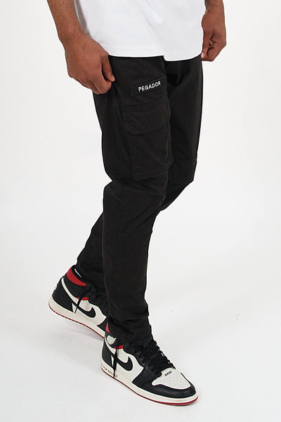 Lavelle Cargo Pants Black - PEGADOR - Dominate the Hype