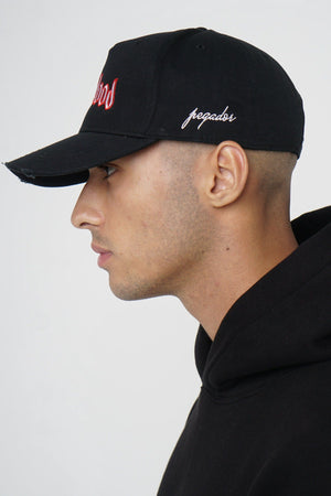 One blood - One Blood Destroyed Cap Black - $39.95