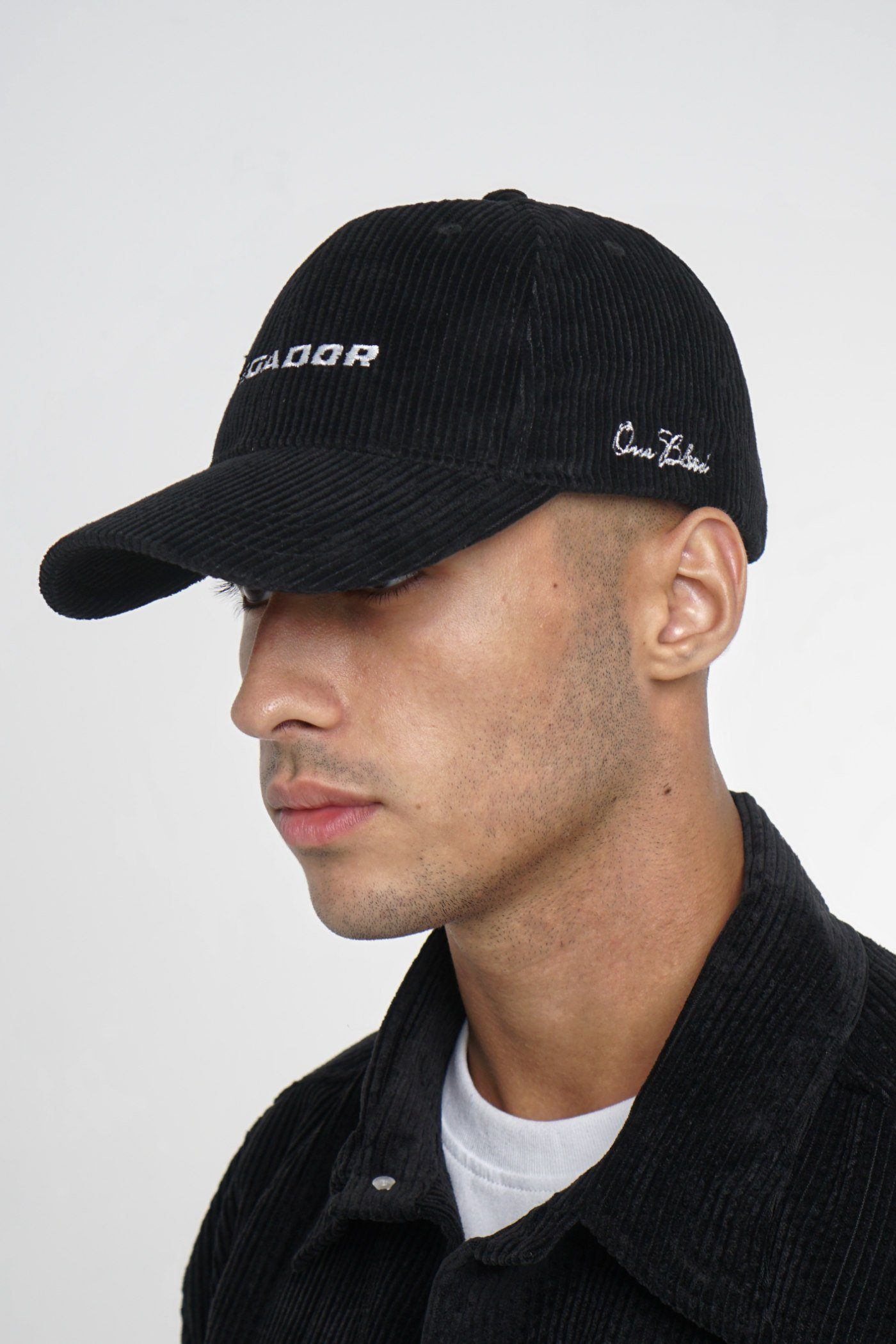 Pegador Cord Cap Black Headwear One blood