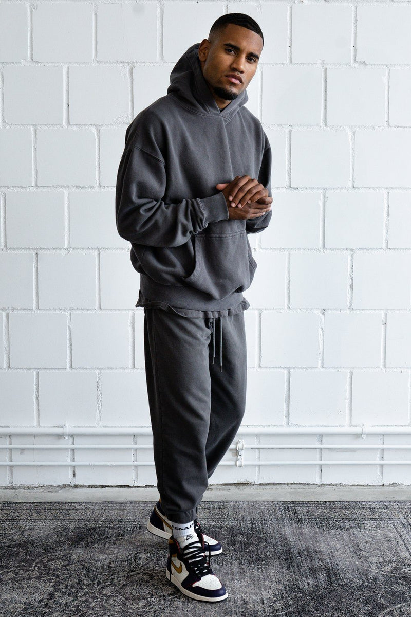 Heavy Sweat Jogger Washed Grey