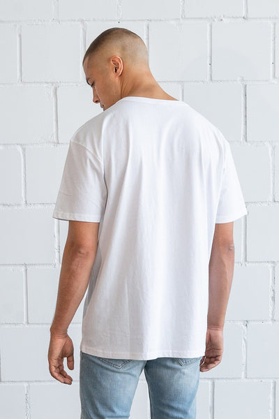 Freedom Oversized Tee White