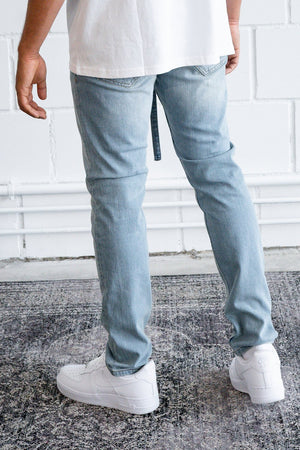 PEGADOR - Mauro Relaxed Jeans Washed Light Blue - $69.95