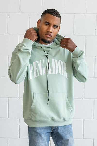 Cali Oversized Hoodie Washed Mint