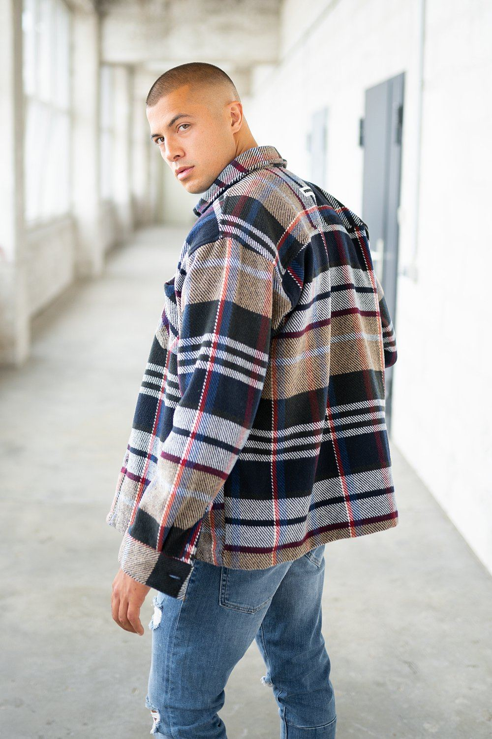 Flato Heavy Flannel Vintage Checkered SHIRT PEGADOR
