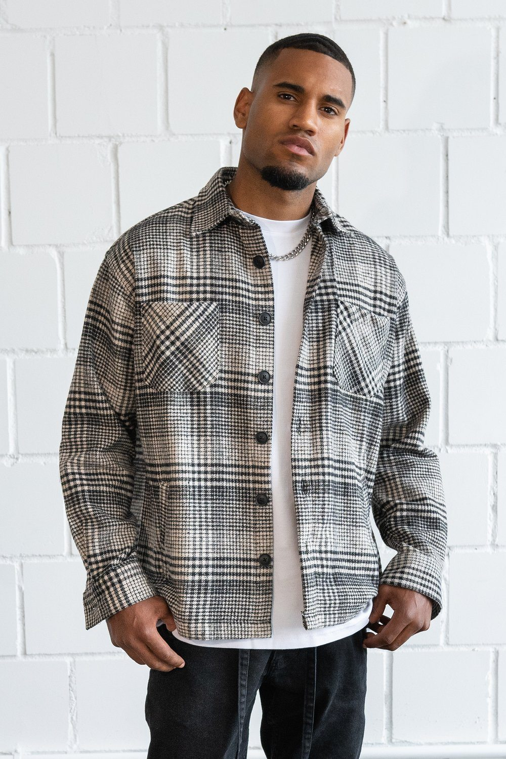 Flato Heavy Flannel Shirt Earth