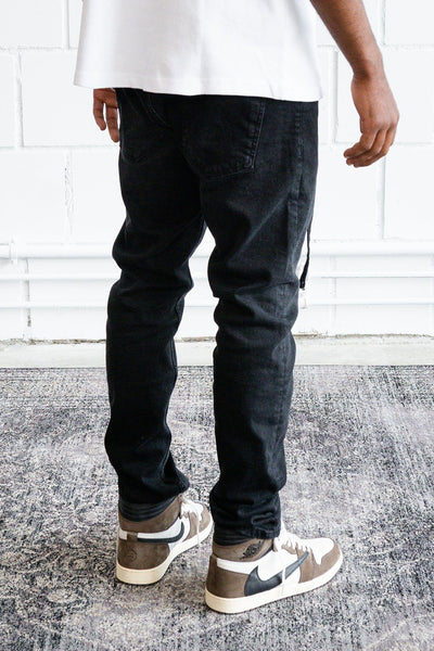 Moura Relaxed Jeans Washed Black