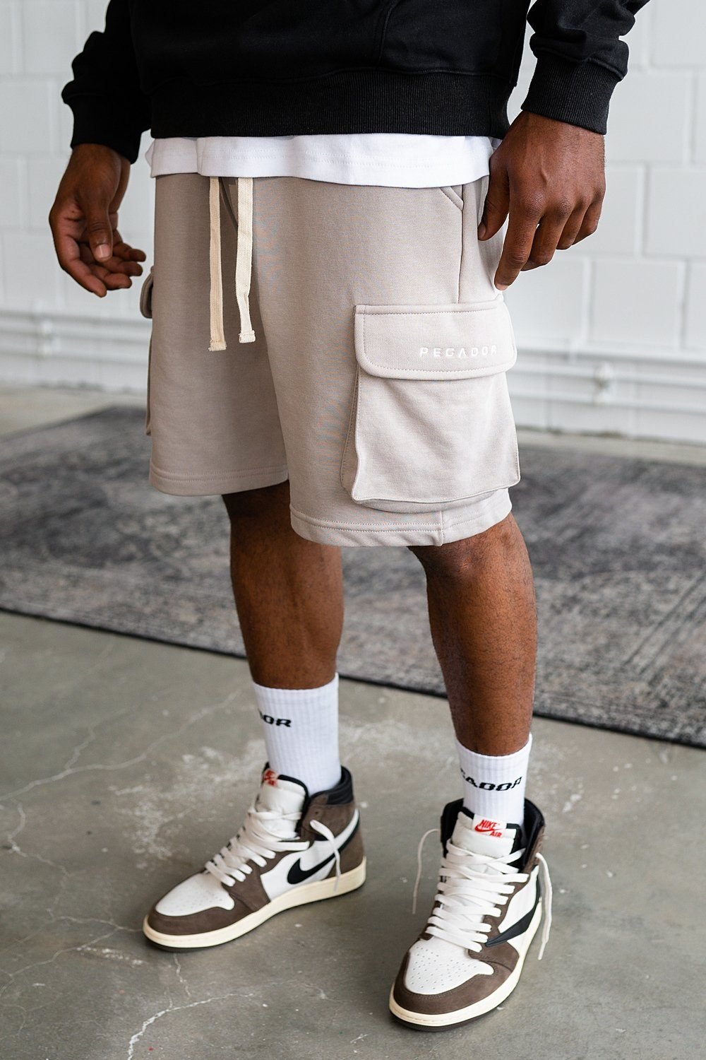 Bello Cargo Shorts Stone
