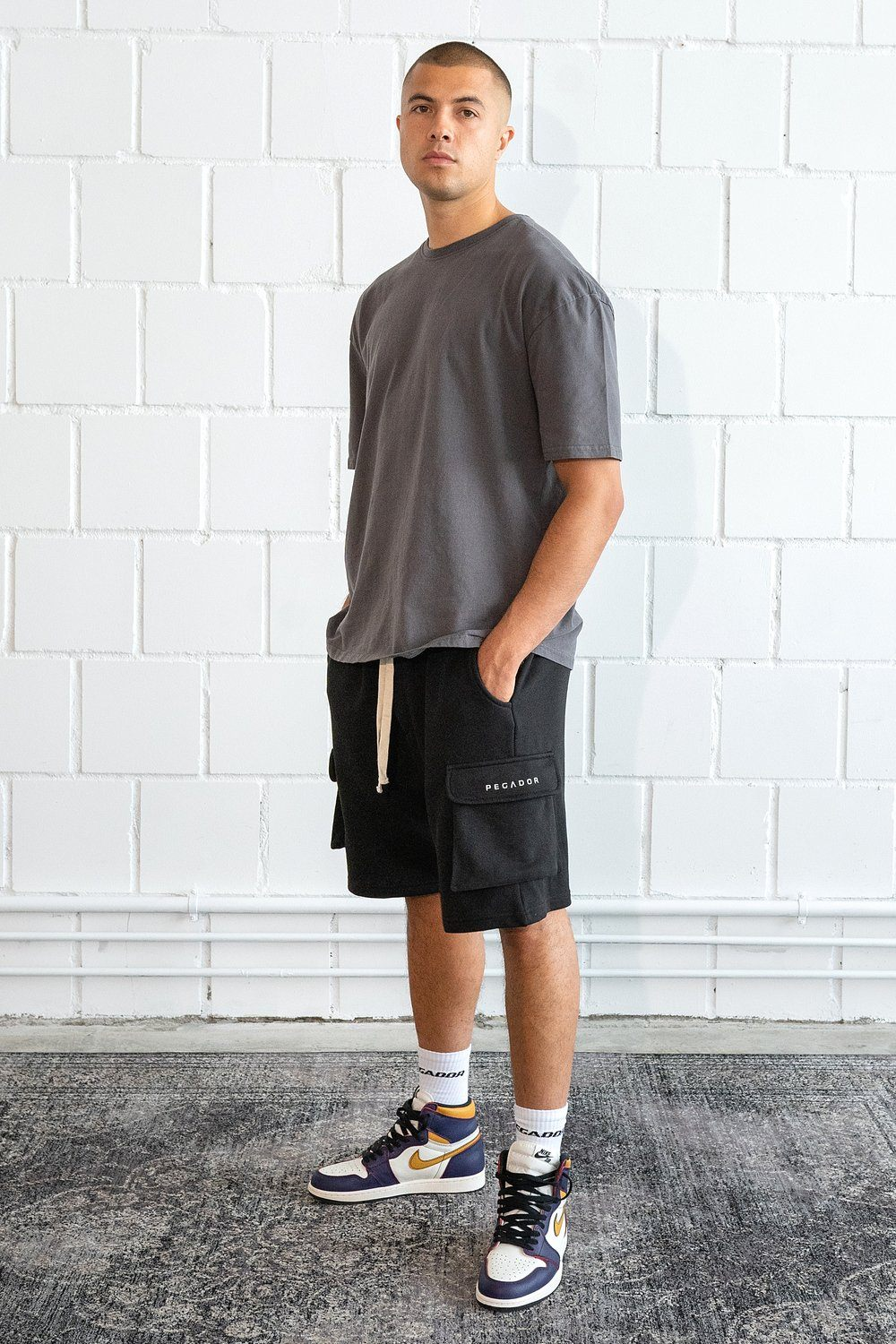 Bello Cargo Shorts Black SHORTS PEGADOR