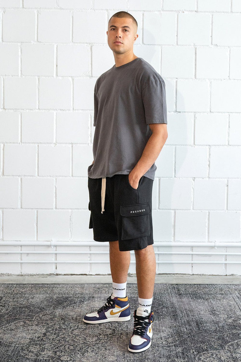 Bello Cargo Shorts Black