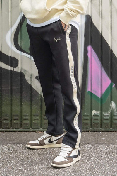 Wide Trackpants Black Vanilla