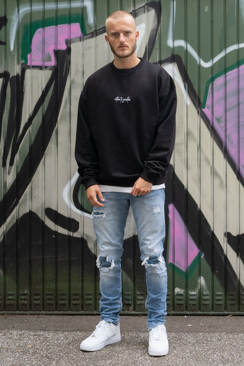 Santo Oversized Sweater Black