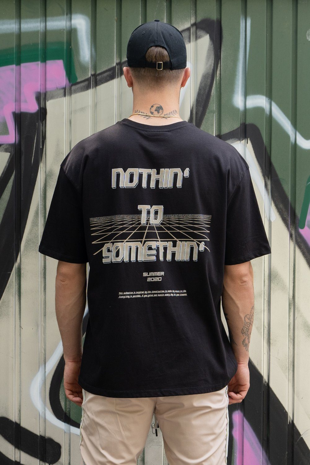 NTS Oversized Tee Black