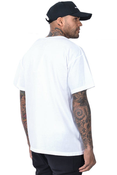 Craig oversized Tee White - PEGADOR - Dominate the Hype