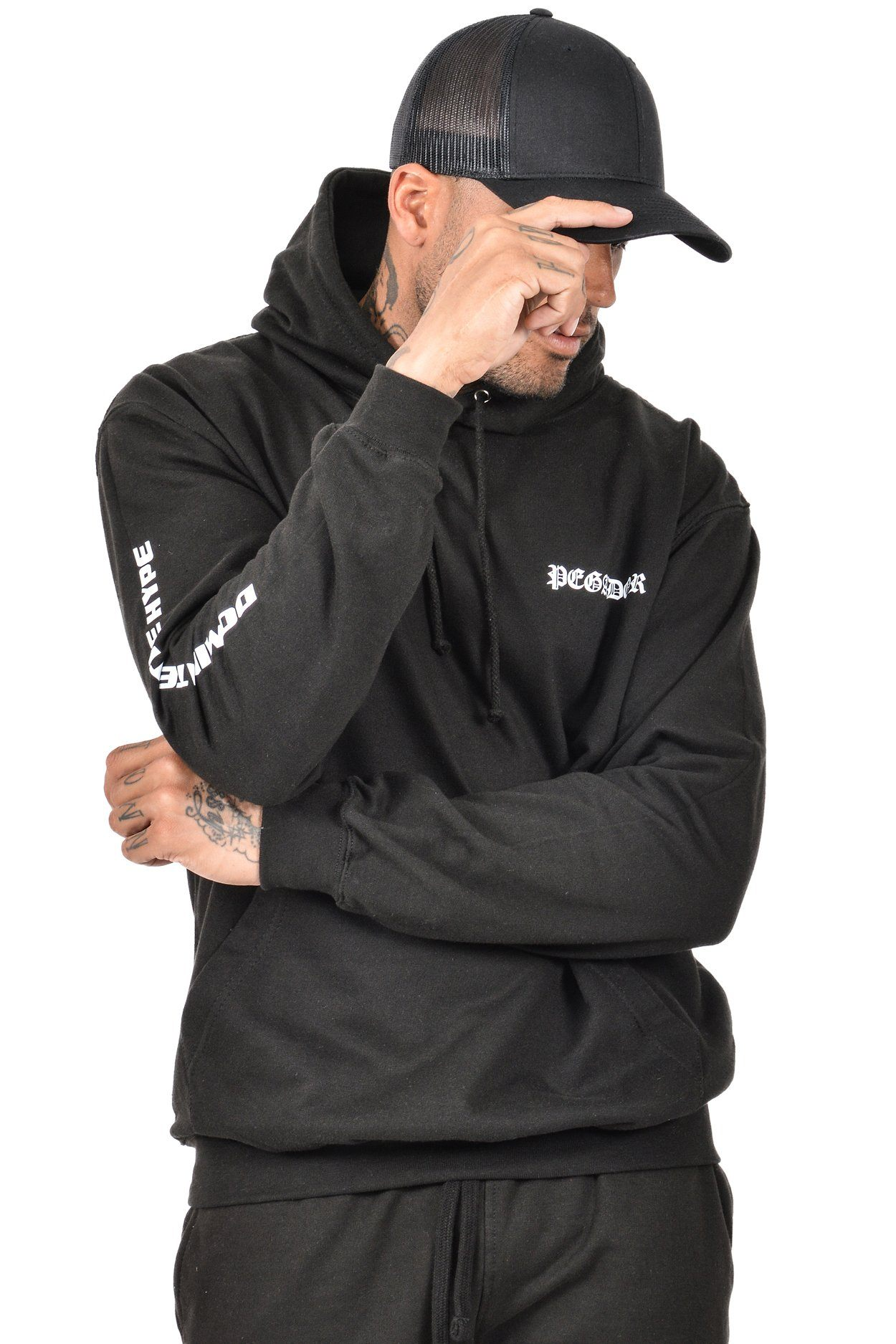 Gil Hoodie Black - PEGADOR - Dominate the Hype