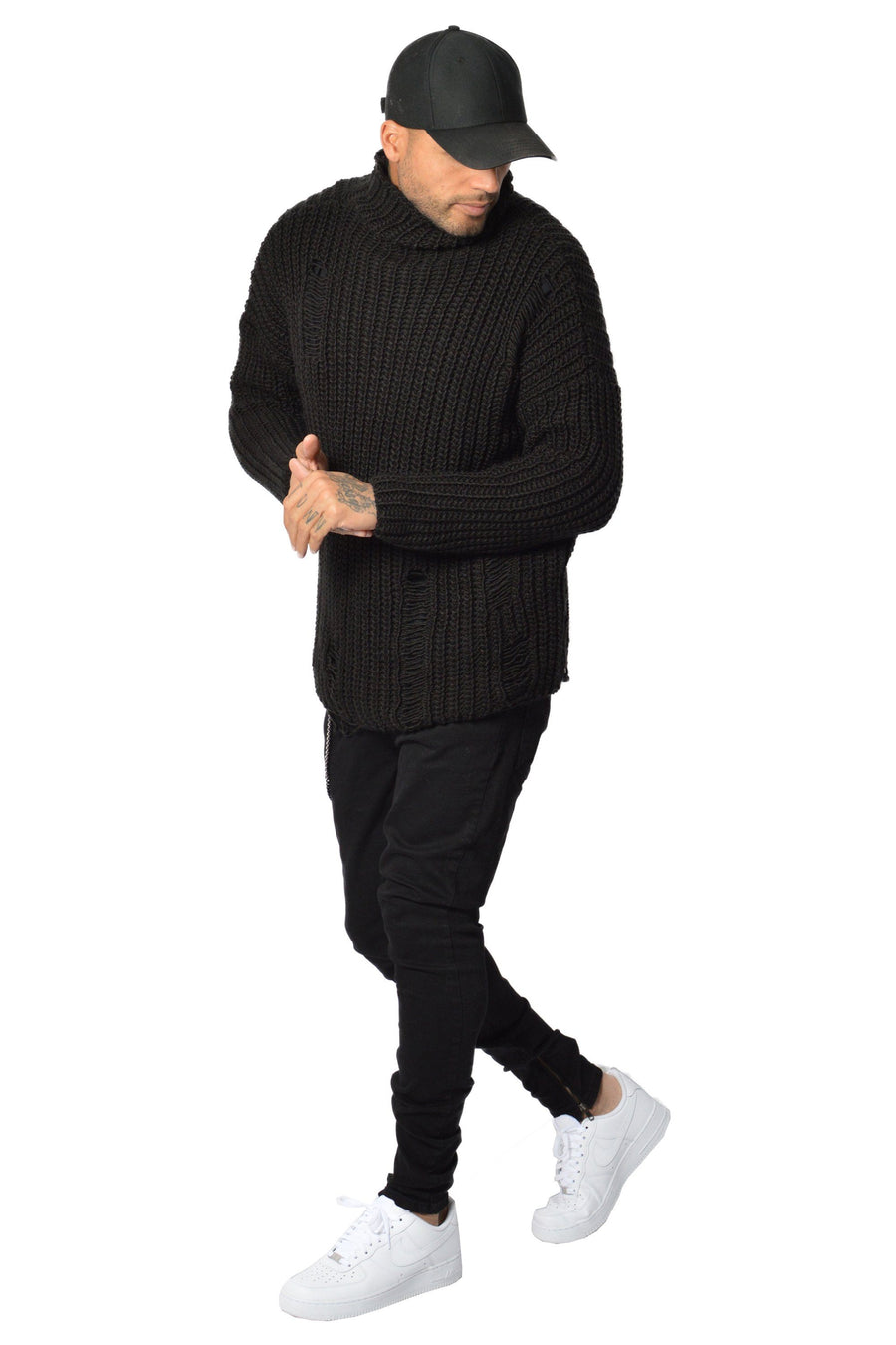 Hernan Knit Sweater Black