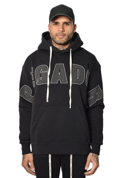 Hanks Hoodie Black - PEGADOR - Dominate the Hype