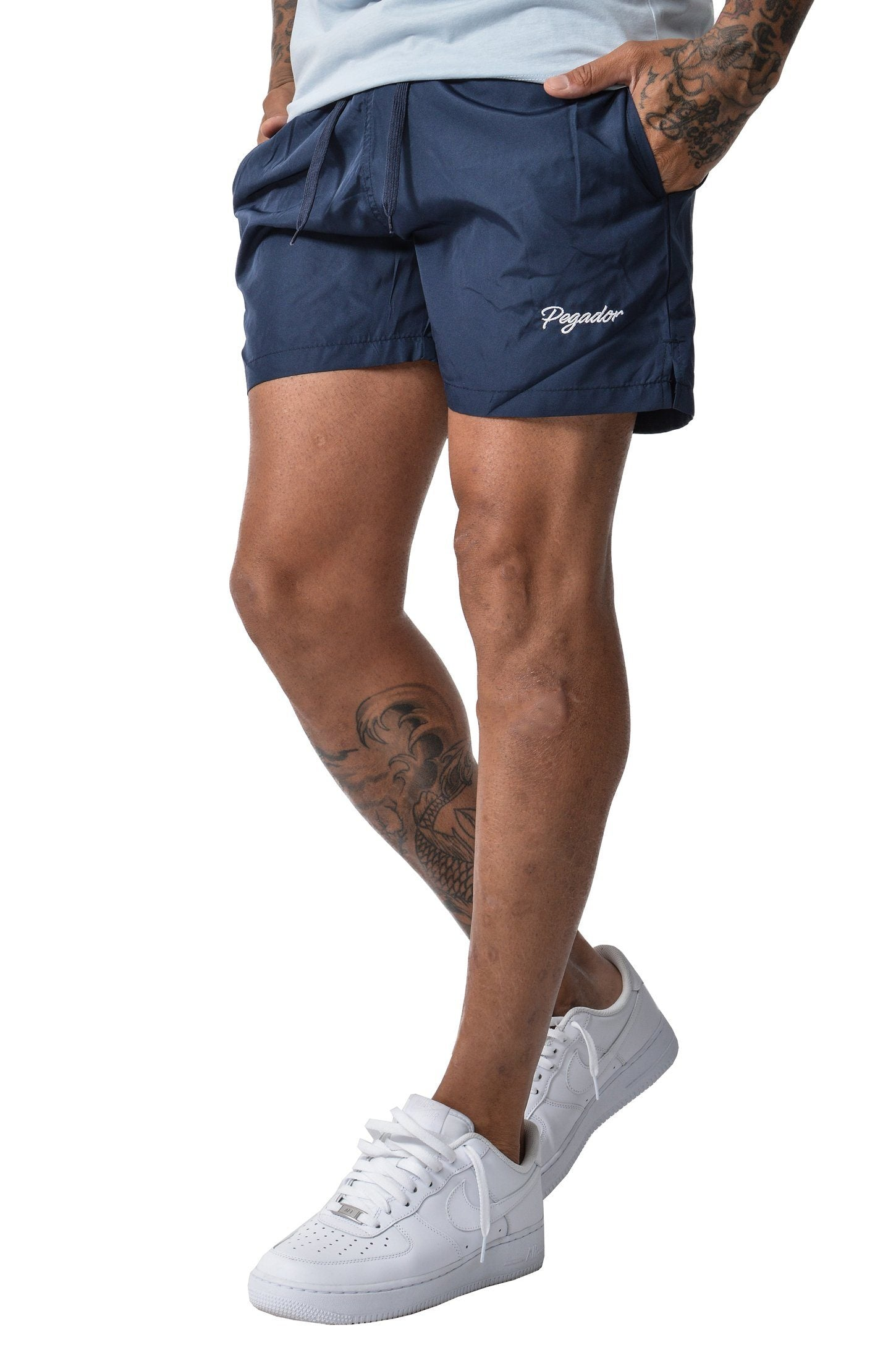Aron Swimshorts Navy - PEGADOR - Dominate the Hype