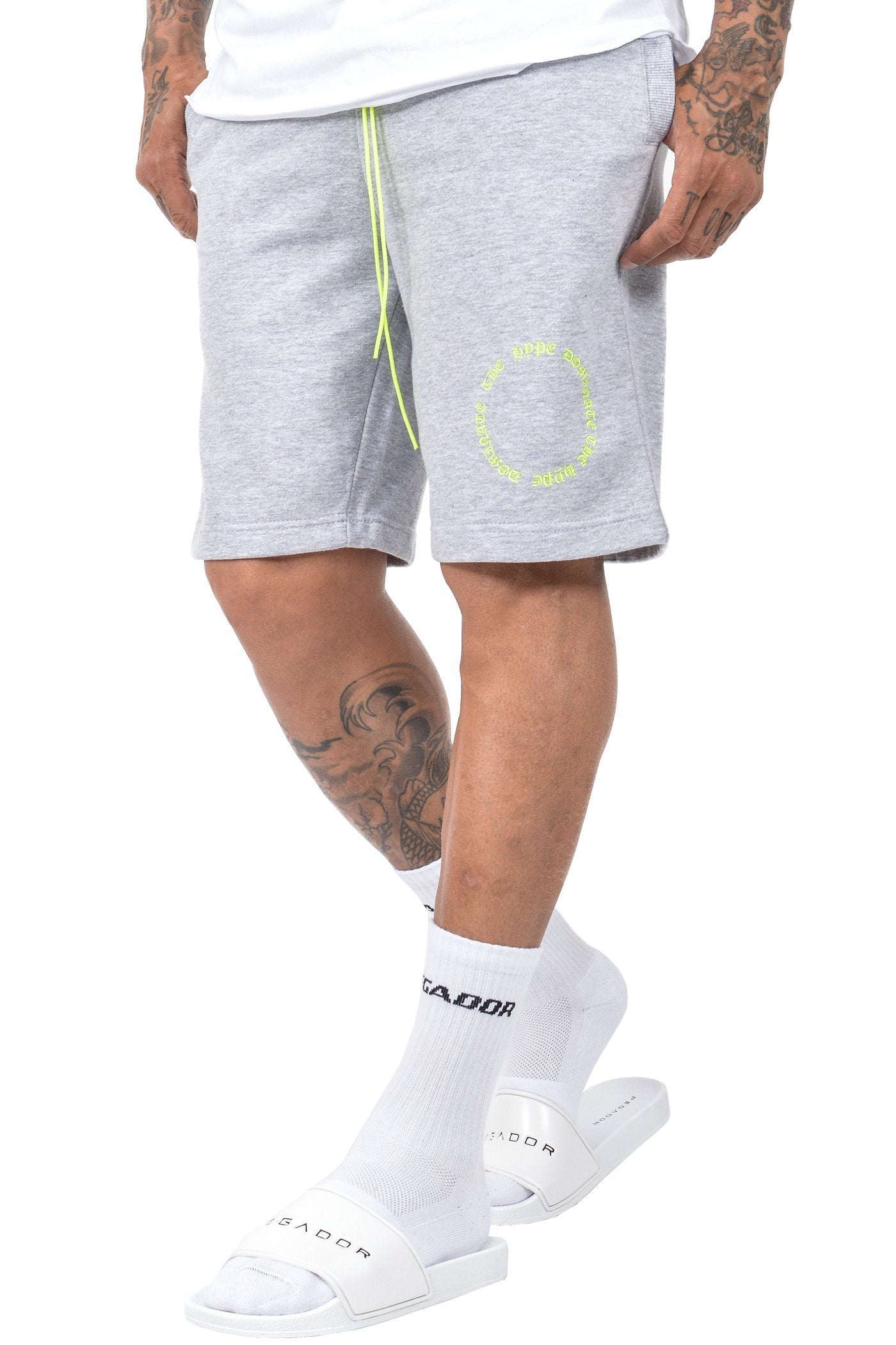 Pito Sweatshorts Heather Grey - PEGADOR - Dominate the Hype