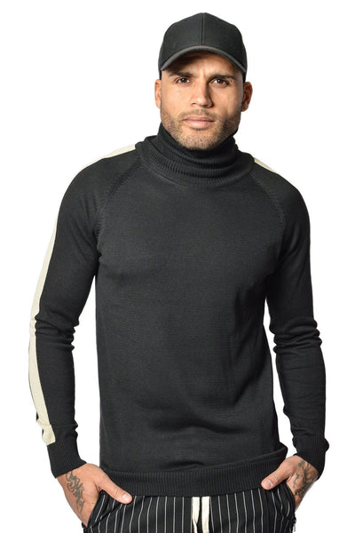 Lui Turtleneck Black Vanilla