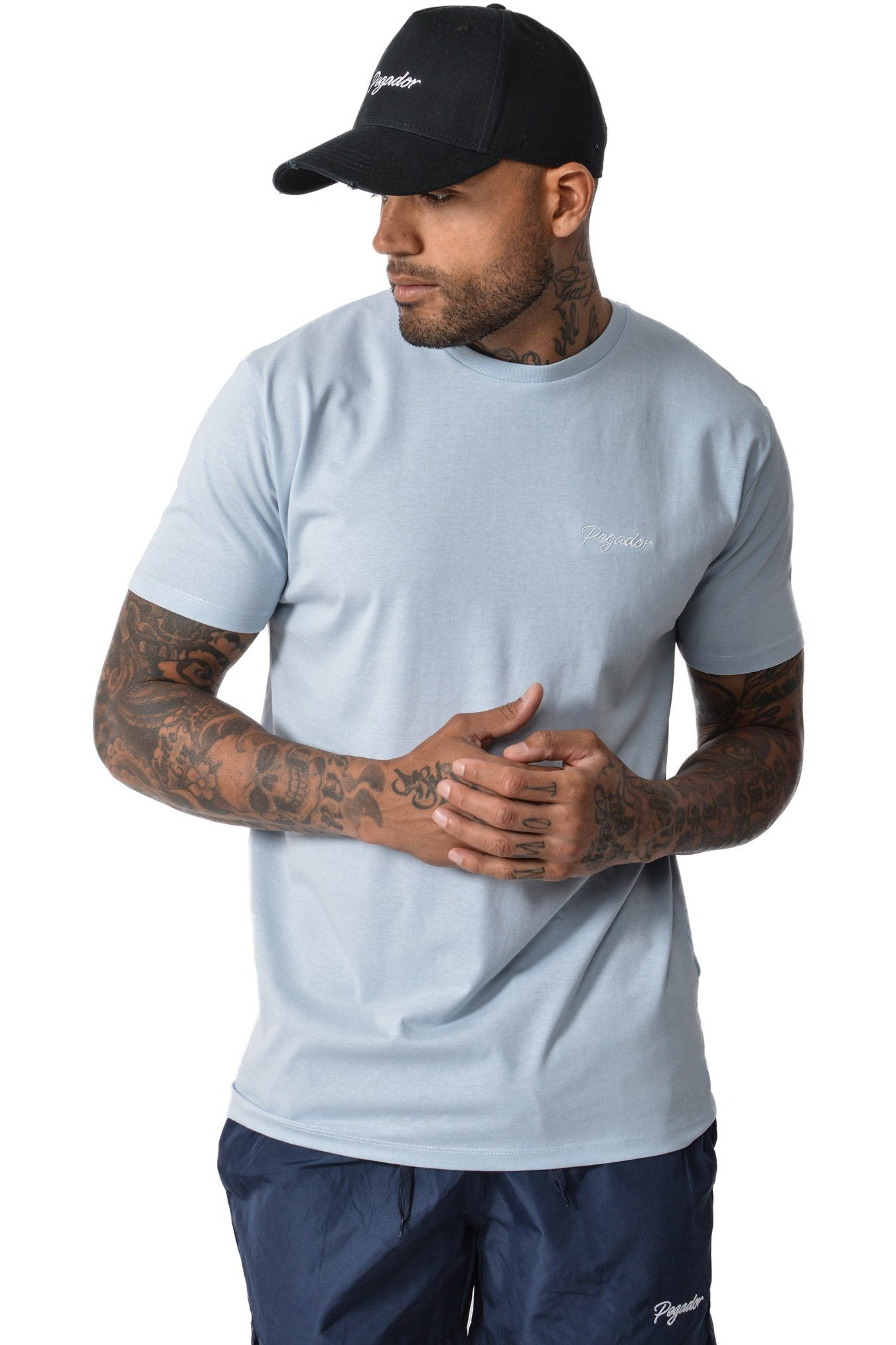 Beo T-Shirt Light Blue - PEGADOR - Dominate the Hype