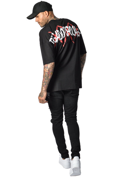Grafite Oversize T-Shirt Black