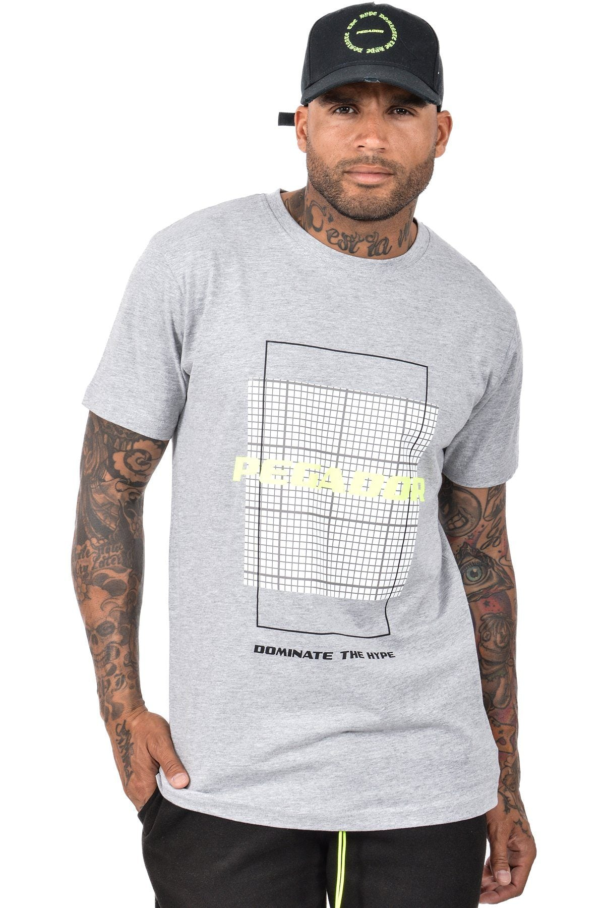 DTH T-Shirt Heather Grey T-Shirt PEGADOR