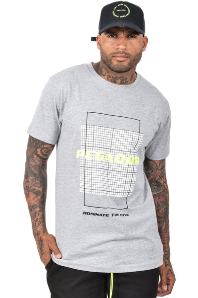 DTH T-Shirt Heather Grey - PEGADOR - Dominate the Hype