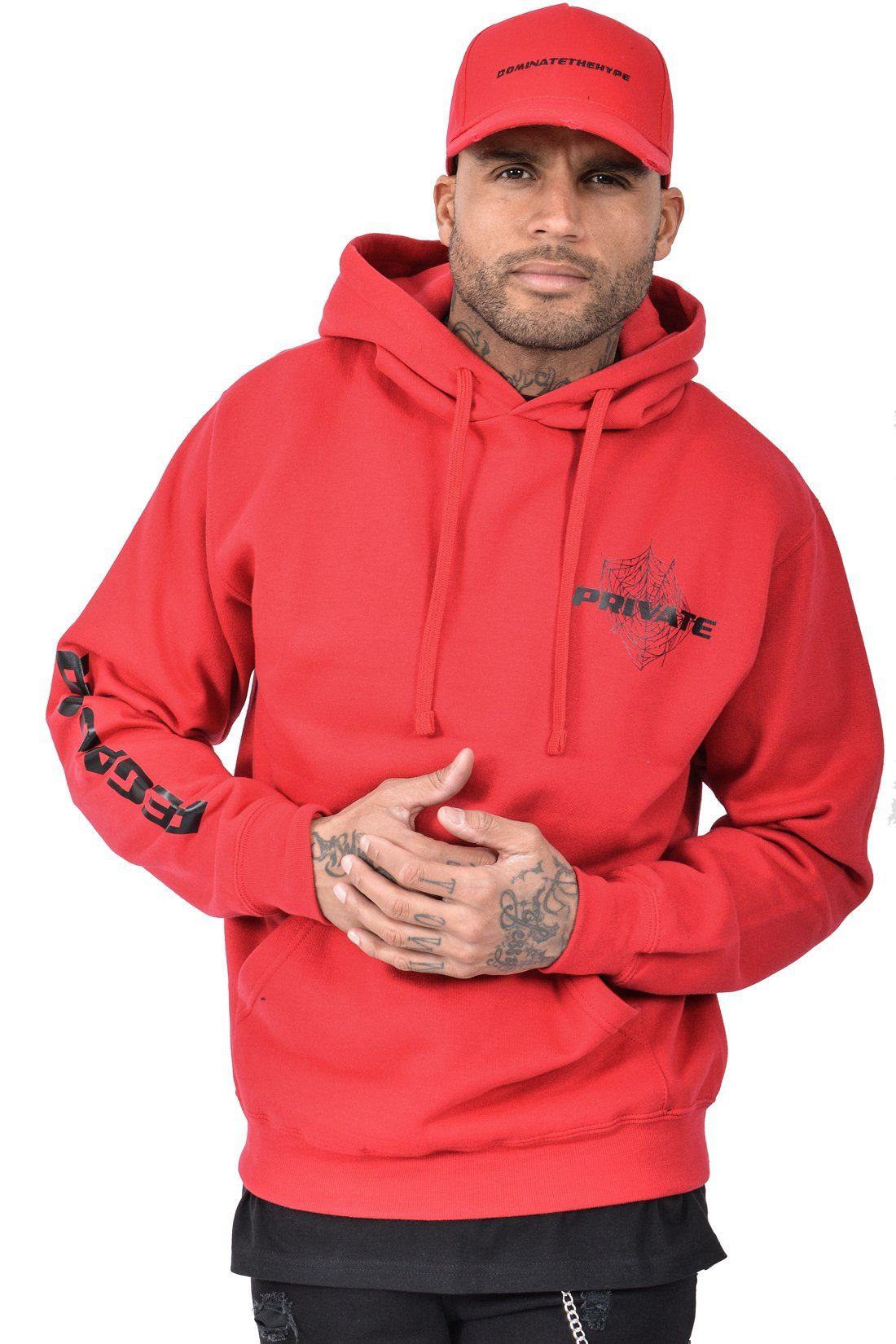 Figo Private Hoodie Red - PEGADOR - Dominate the Hype