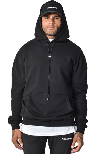 Basic Hoodie Black - PEGADOR - Dominate the Hype