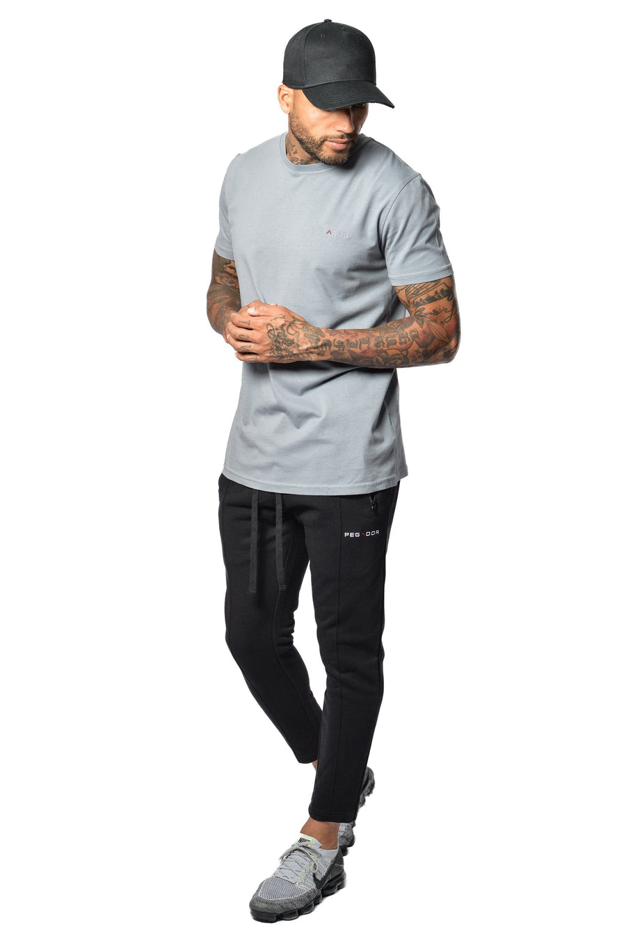 Aro T-Shirt Grey