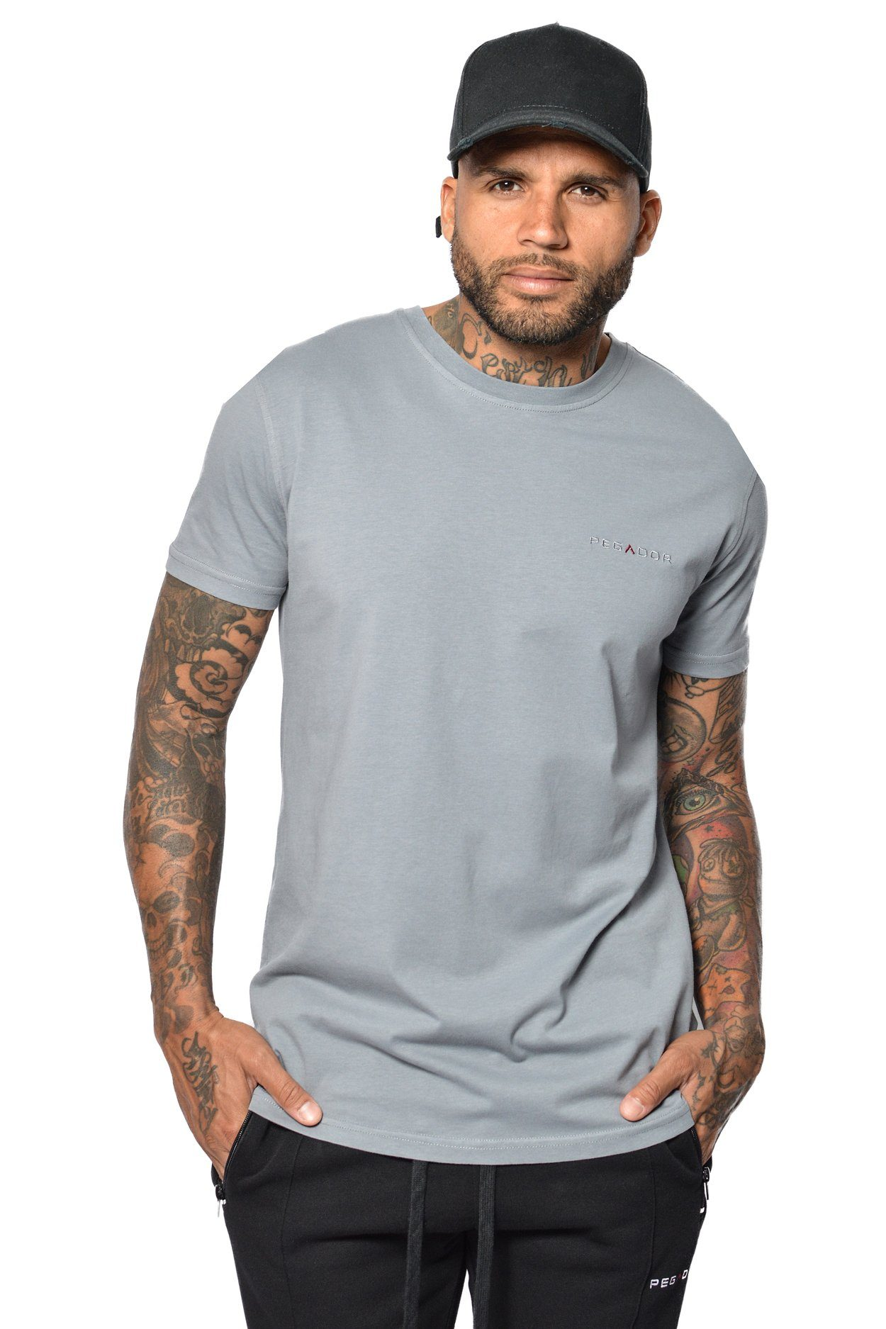 PEGADOR - Aro T-Shirt Grey - PEGADOR - Dominate the Hype