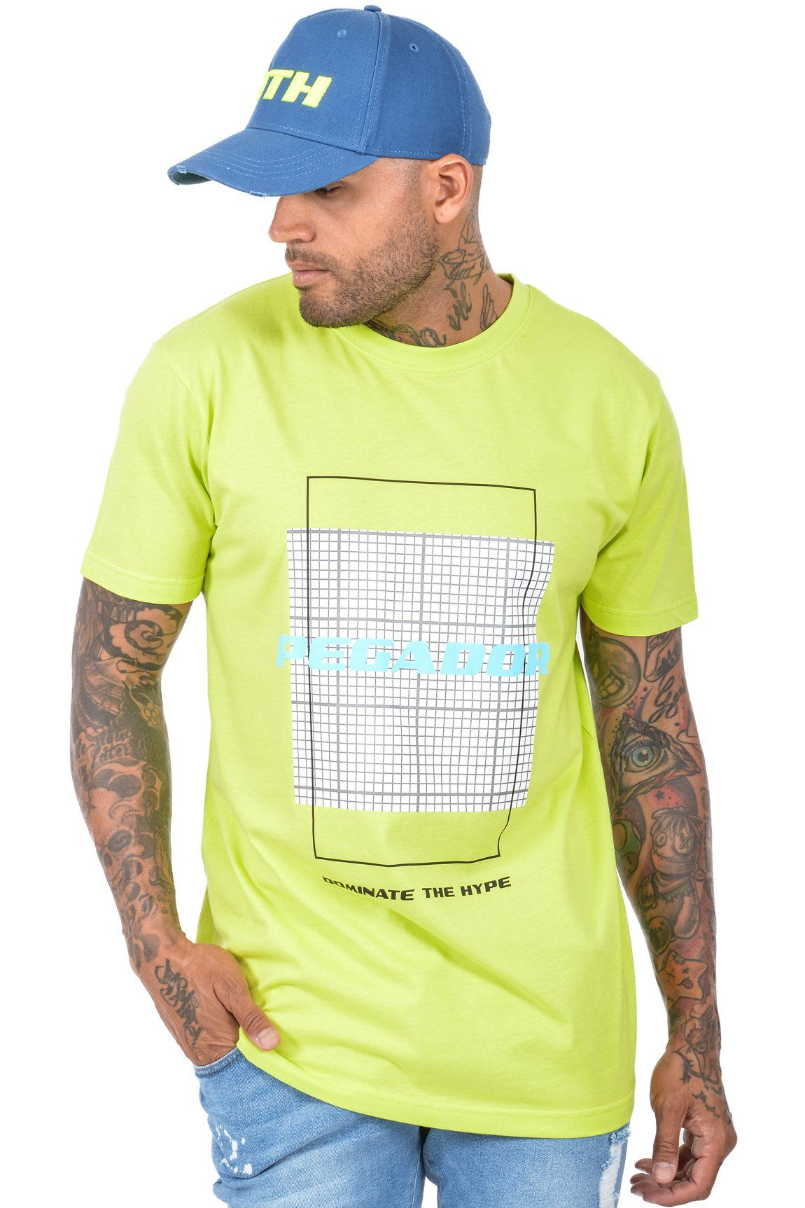 DTH T-SHIRT YELLOW - PEGADOR - Dominate the Hype