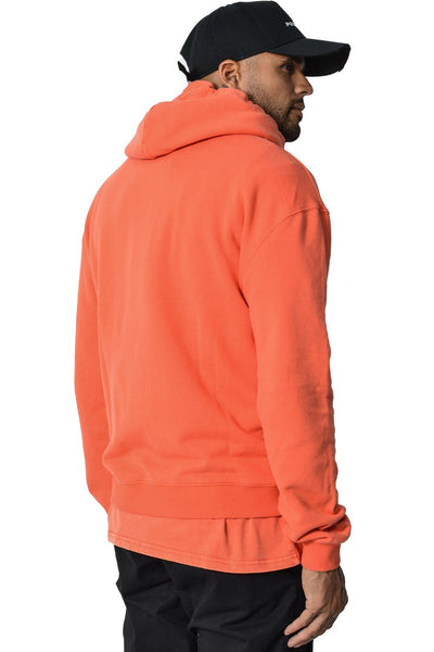 Basic Hoodie Washed Red - PEGADOR - Dominate the Hype