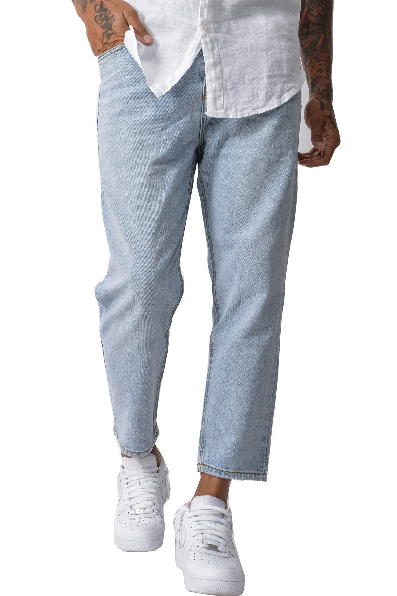 Dallas Basic boyfriend Jeans Light Blue - PEGADOR - Dominate the Hype