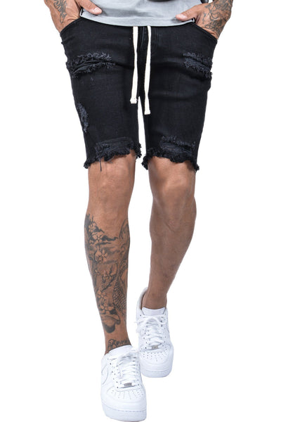 Cordoba Shorts Destroyed Black - PEGADOR - Dominate the Hype