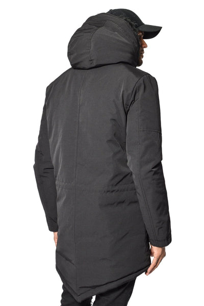 PEGADOR - Arctic Parka Black & Black Fur - PEGADOR - Dominate the Hype