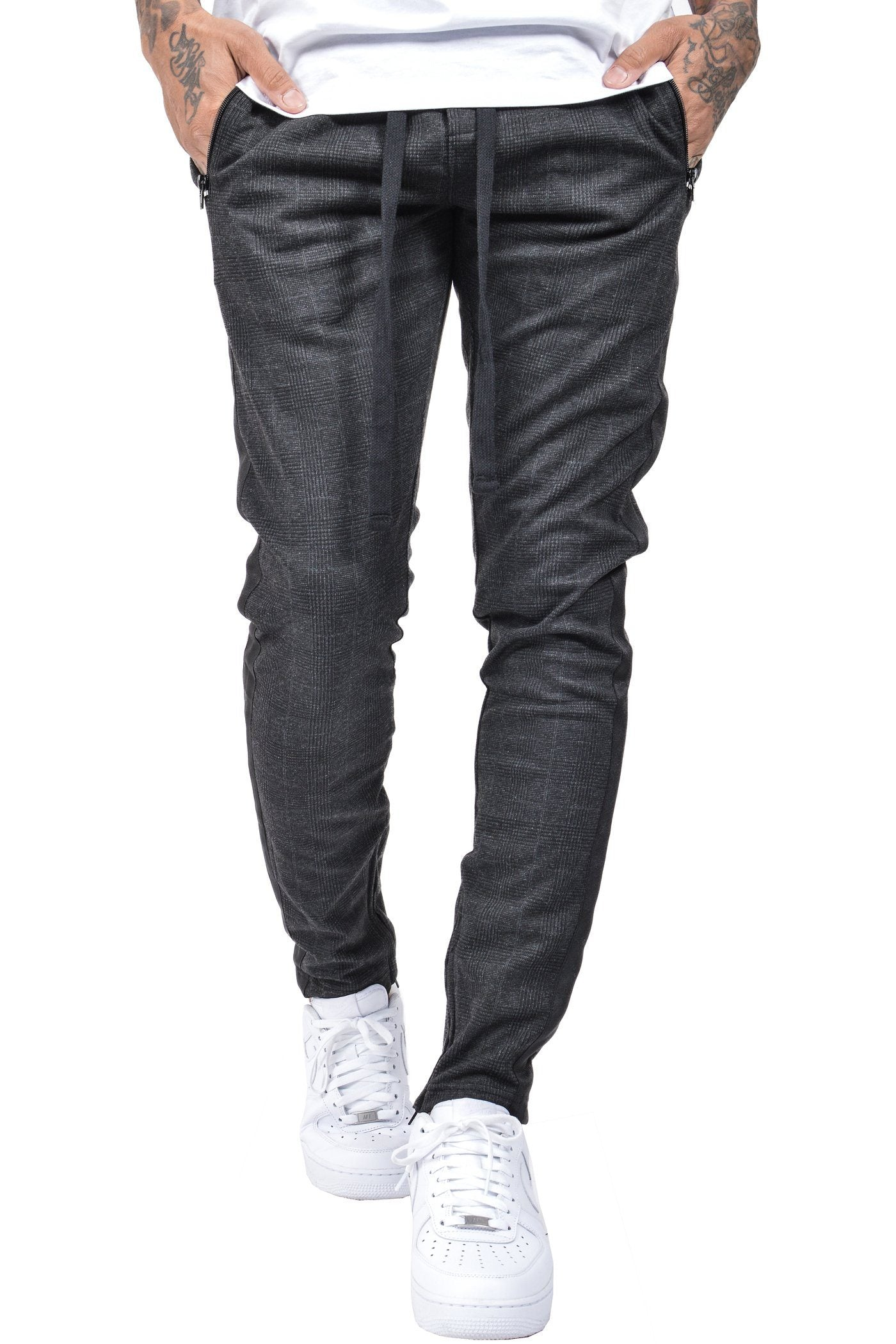 Benjamin Stripe Pants Antra-Black - PEGADOR - Dominate the Hype