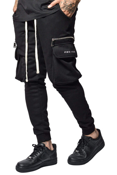 PEGADOR - Vaio Cargo Pants Black - PEGADOR - Dominate the Hype